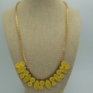 Kate Spade Yellow Gold Cluster Necklace